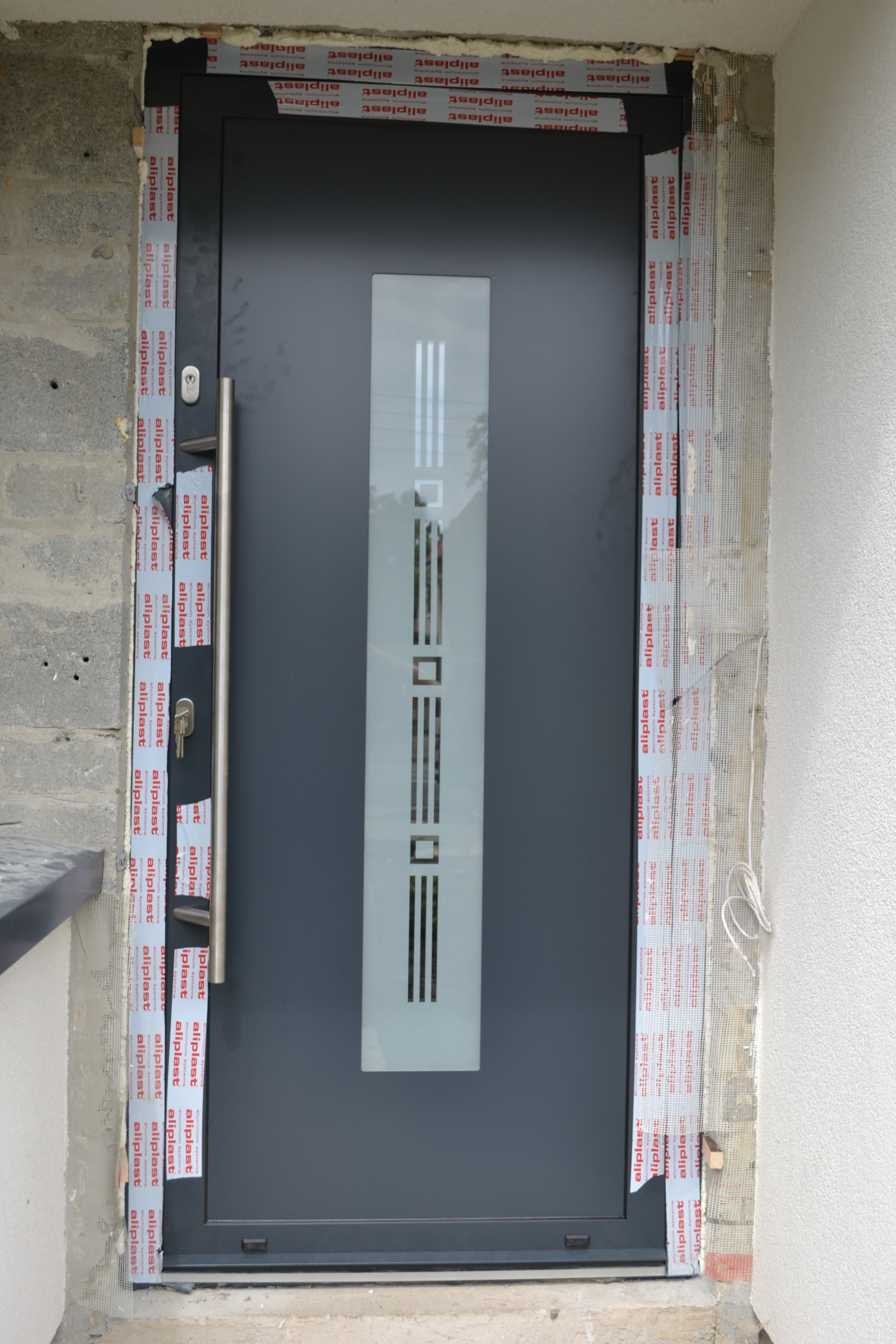 Aluminium Door With Security Locks Eco Tech Windows